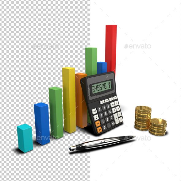 Stock Market - Miscellaneous 3D Renders