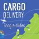 Cargo delivery Google slides - GraphicRiver Item for Sale