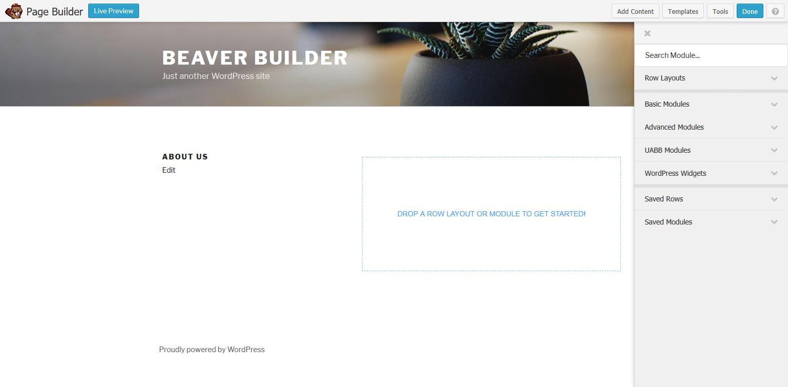 Beaver Builder Visibility Addon