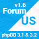 ForumUS | Responsive phpBB 3.1 & 3.2 Style / Theme - ThemeForest Item for Sale
