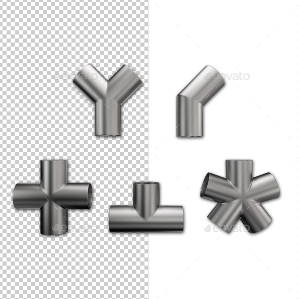 Pipe Joints - Miscellaneous 3D Renders