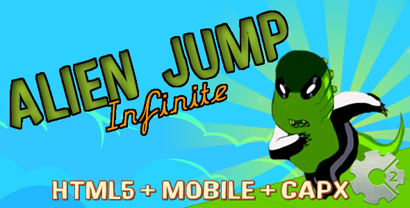 Alien Jump - Run Infinite (.capx) - CodeCanyon Item for Sale