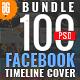 100 Facebook Timeline Cover Bundle - GraphicRiver Item for Sale
