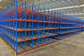 Warehouse  shelving storage Inside of metal pallet racking system