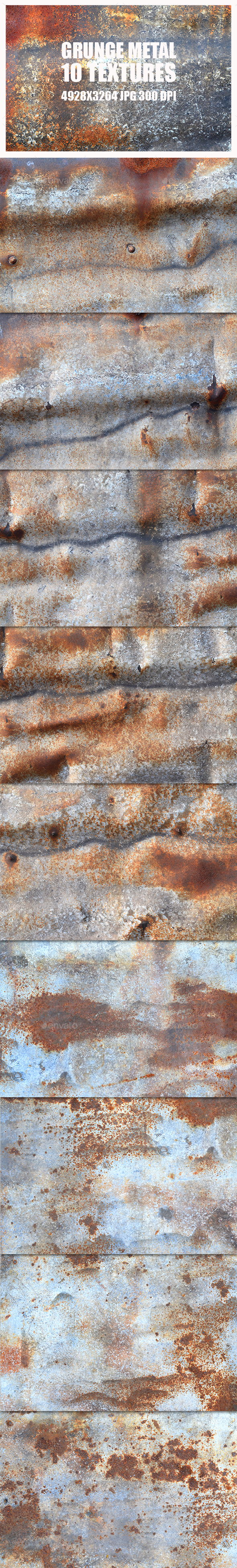 Grunge Metal Textures 4 - Metal Textures