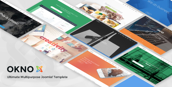 Image of Okno - Ultimate Multipurpose Joomla Template