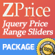 ZPrice - Jquery Price Range Sliders - CodeCanyon Item for Sale