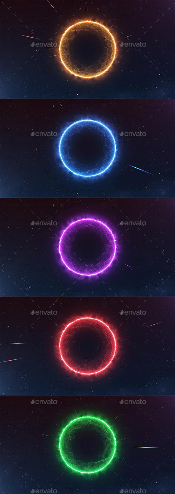 Black Hole - Backgrounds Graphics