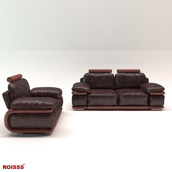 Sofa richmond 2 Roisss - 3DOcean Item for Sale