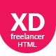 XD Freelancer- Personal/Agency Portfolio One Page HTML Template - ThemeForest Item for Sale