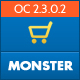 Monster Responsive OpenCart Theme Nulled
