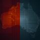 Pack of Australia Maps Loop 4K - VideoHive Item for Sale