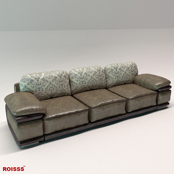 Sofa richmond 1 Roisss - 3DOcean Item for Sale