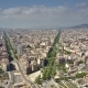 Barcelona City View on a Sunny Day - VideoHive Item for Sale