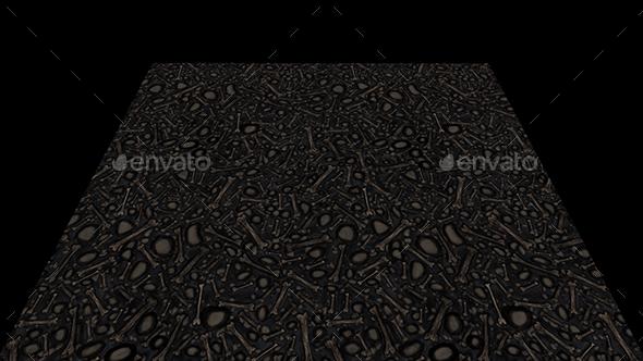 Bones texture tile - 3DOcean Item for Sale