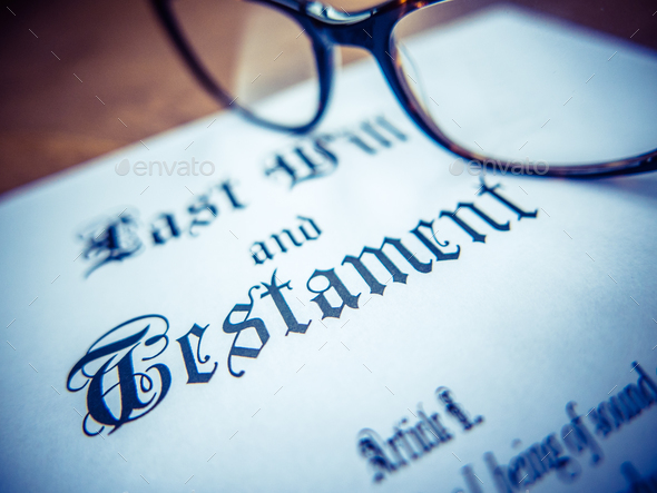 Last Will And Testament - Stock Photo - Images