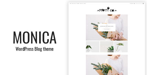 Monica – Clean WordPress Blog Theme