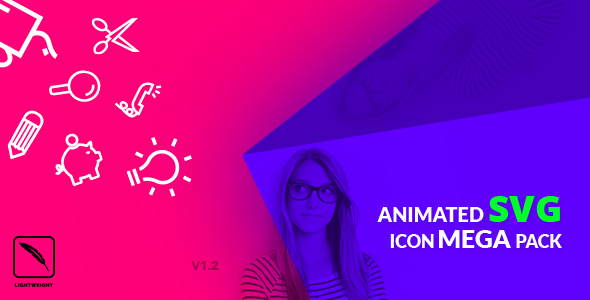 Animated SVG Icon Mega Pack nulled free download
