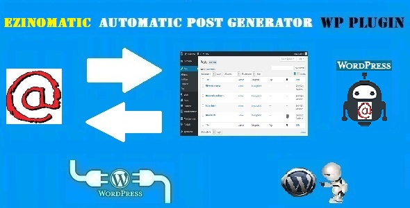 Ezinomatic Automatic Post Generator and EzineArticles Auto Poster Plugin for WordPress - CodeCanyon Item for Sale