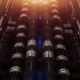 A Loop VJ Futuristic Tunnel of Pipes and Neon Lamps - VideoHive Item for Sale
