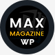 Max Magazine - News & Blog WordPress Theme