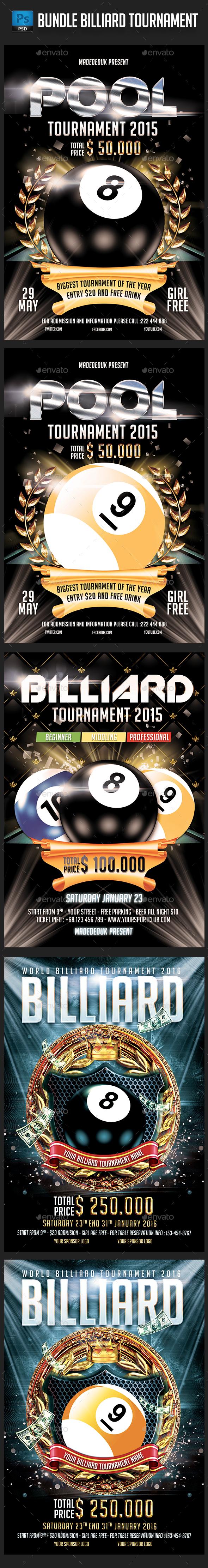 Bundle Billiard Tournament - Sports Events