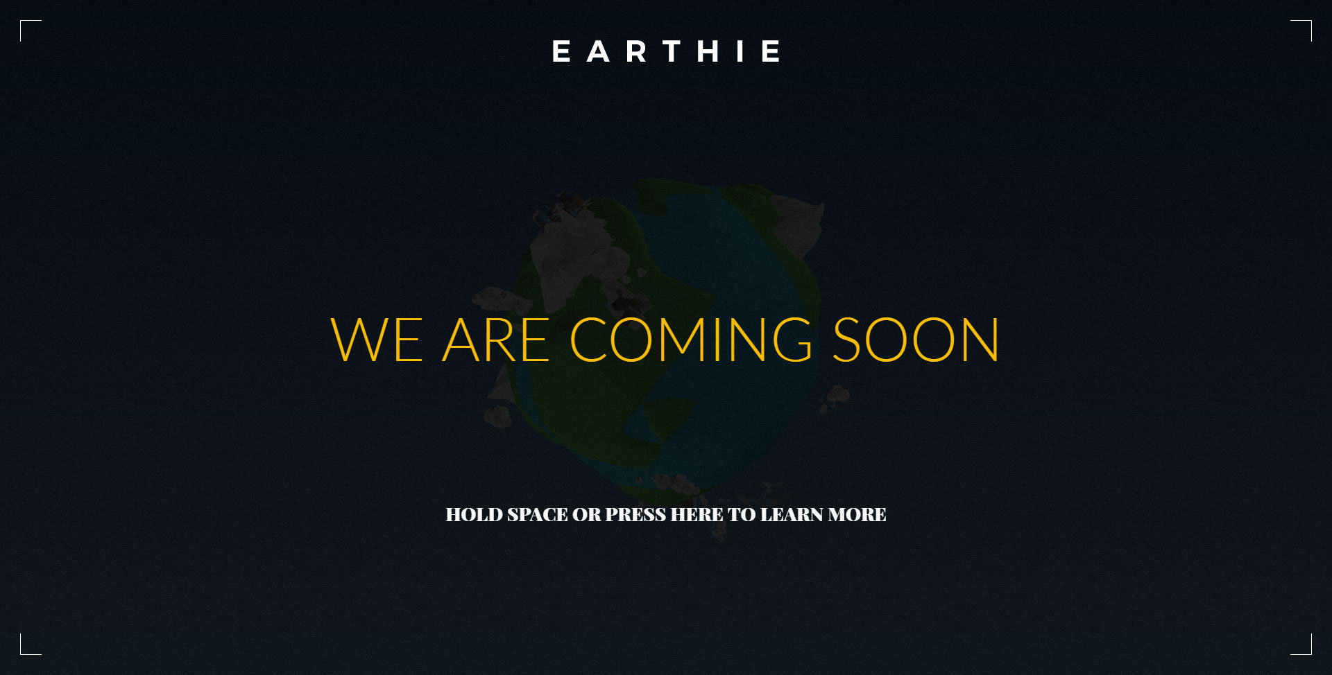 Earthie Creative 3d Coming Soon Template By Boom Apps Themeforest