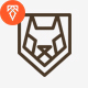 Wolf Logo - GraphicRiver Item for Sale