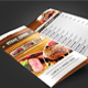 Trifold Menu Template Vol.12 - GraphicRiver Item for Sale