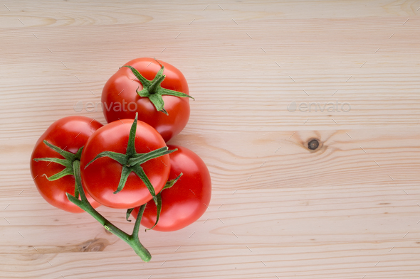 Bunch of ripe tomatoes - Stock Photo - Images