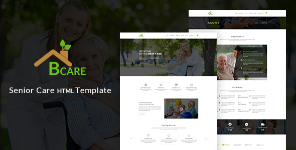 Bcare – Senior Care HTML Template