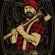 Lumberjack T-Shirt Design - GraphicRiver Item for Sale