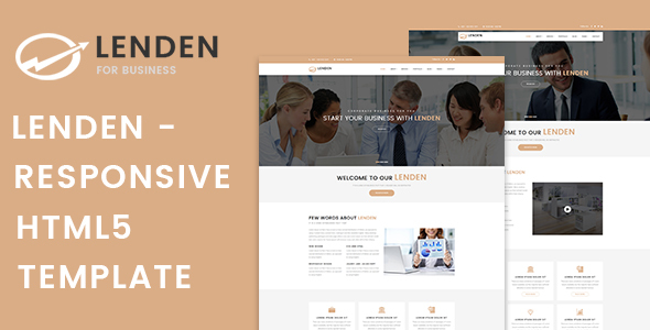 Lenden | Business & Corporate HTML5 Template - Business Corporate