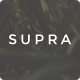 Supra - Minimal One Page Portfolio & Resume HTML Template - ThemeForest Item for Sale