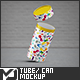 Tube / Can Packaging Mock-Up - GraphicRiver Item for Sale