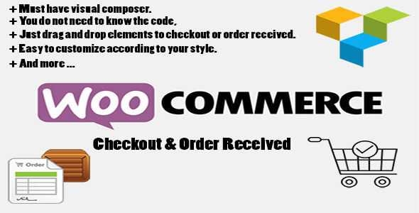 Woocommerce Checkout and Order received for Visual Composer - CodeCanyon Item for Sale