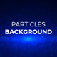 Blue Rising Particles Background - VideoHive Item for Sale