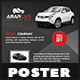 Rent a Car Poster - GraphicRiver Item for Sale