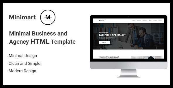 Minimart – Minimal Busines and Agency HTML5 Template