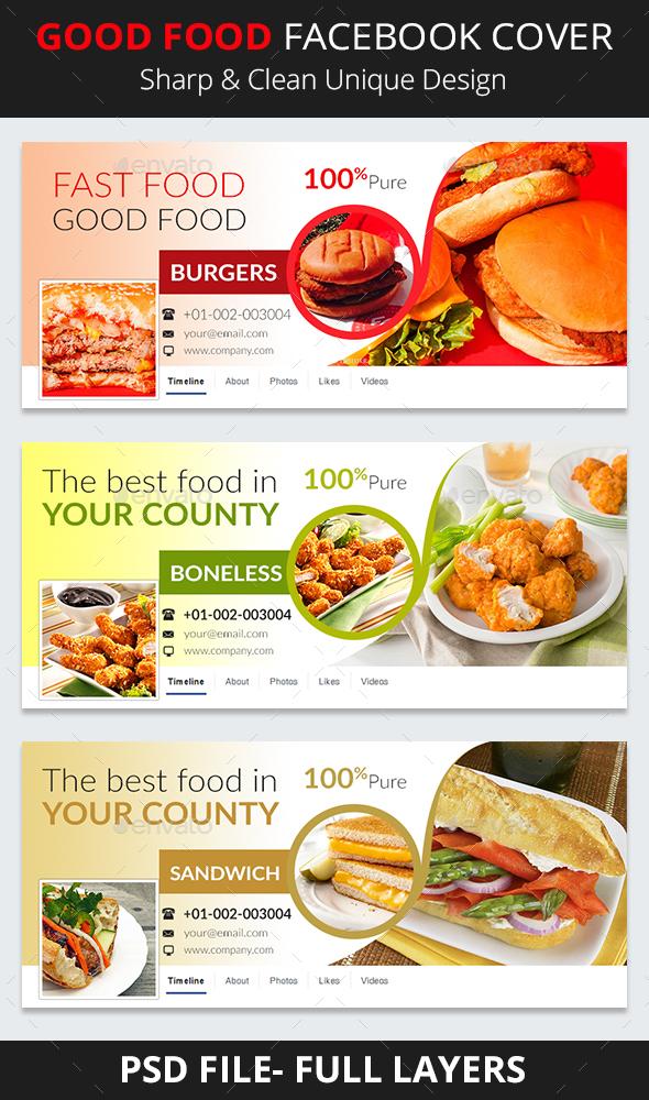 Good Food Facebook Cover - Facebook Timeline Covers Social Media