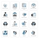 Insurance and Medical Services Icons Set - GraphicRiver Item for Sale