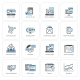 Set of Business and Marketing Flat Icons - GraphicRiver Item for Sale