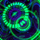 HUD Techno Gyroscope VJ Loop - VideoHive Item for Sale