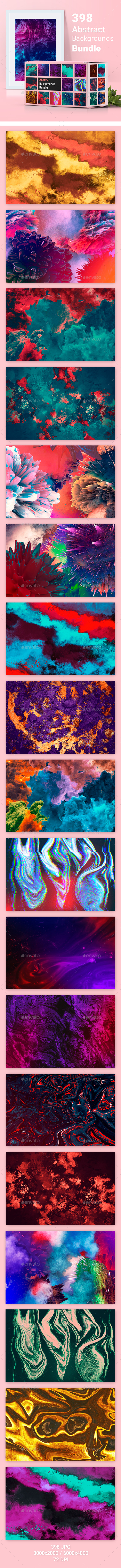 398 Abstract Backgrounds Bundle - Abstract Backgrounds