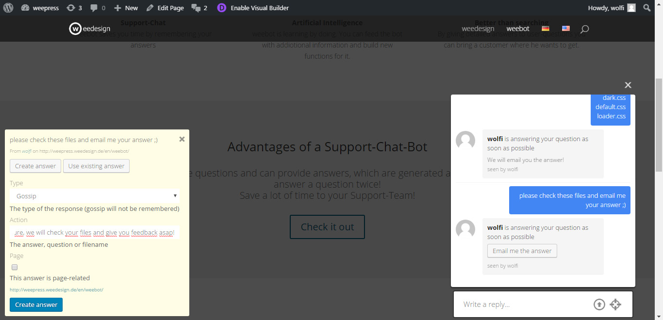 Image result for Live chat support chatbot