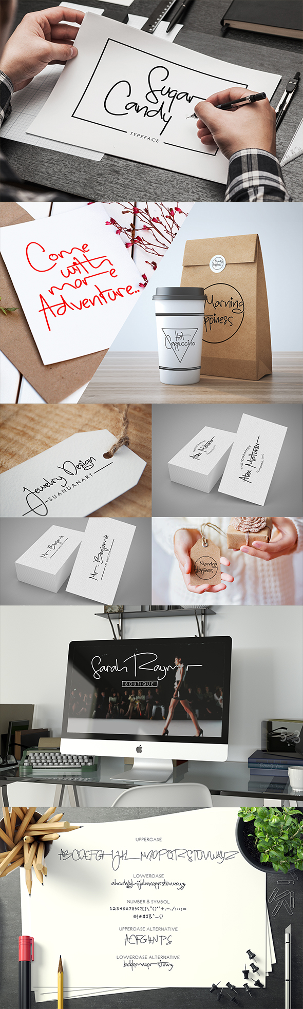 Sugar Candy Signature Typeface - Calligraphy Script