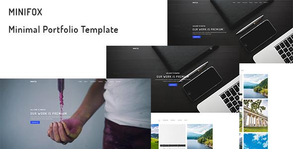 MiniFox – Minimal Portfolio Template