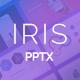 IRIS Minimal PowerPoint Presentation - GraphicRiver Item for Sale