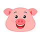 Pig Emoticon Vector Pack - GraphicRiver Item for Sale