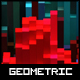 Geometric Nebula Wallpaper - GraphicRiver Item for Sale
